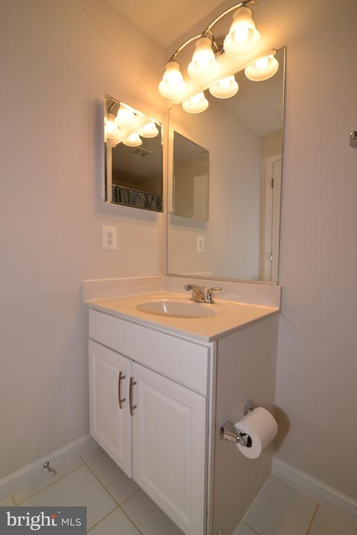4th Level Full Bath - 25017 CAMBRIDGE HILL TER, CHANTILLY