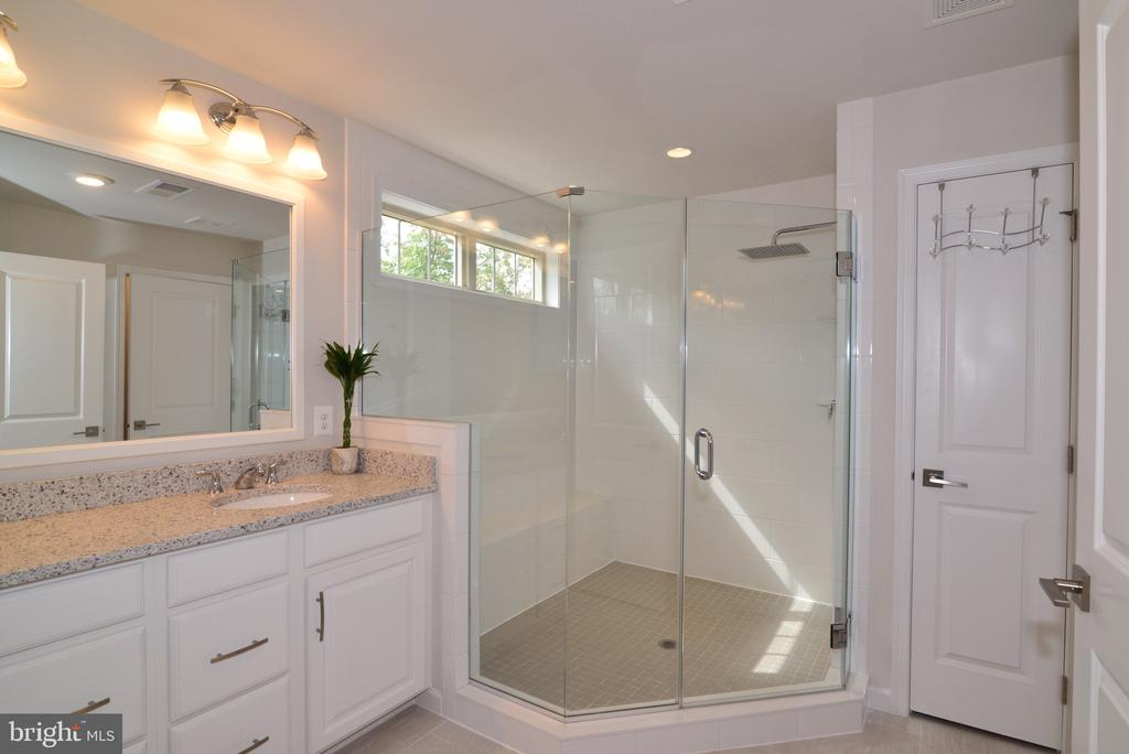 Master Bathroom with huge Walk in Shower - 25017 CAMBRIDGE HILL TER, CHANTILLY