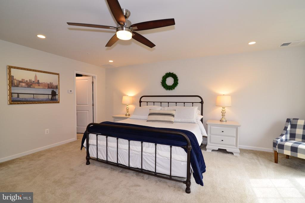 Master Bedroom has 2 Walk-in Closets - 25017 CAMBRIDGE HILL TER, CHANTILLY