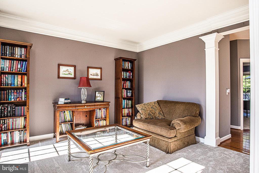 Living Room - 18555 DETTINGTON CT, LEESBURG