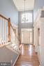 Welcoming Foyer with soaring ceilings - 18555 DETTINGTON CT, LEESBURG