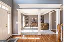 Formal Living Room off Foyer - 18555 DETTINGTON CT, LEESBURG