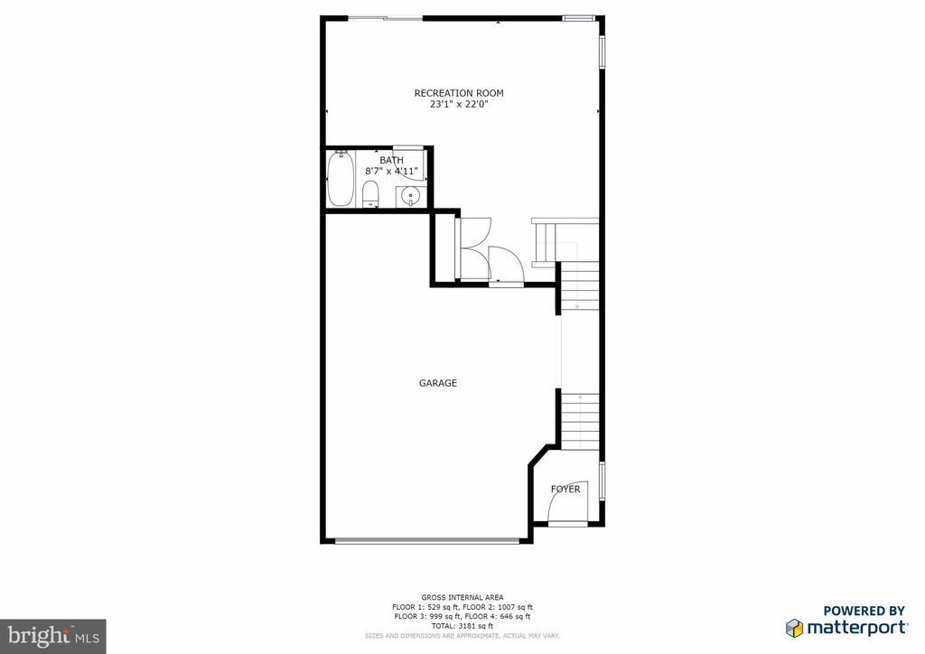 First Floor - 25017 CAMBRIDGE HILL TER, CHANTILLY