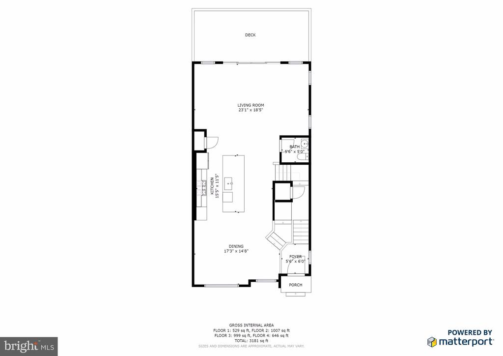 Second (main) Level - 25017 CAMBRIDGE HILL TER, CHANTILLY