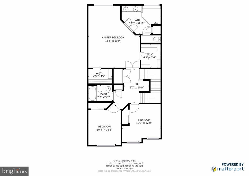 Third (Bedroom) Level - 25017 CAMBRIDGE HILL TER, CHANTILLY