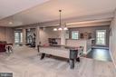 Wow!  Huge Daylight Basement Rec Room - 18555 DETTINGTON CT, LEESBURG