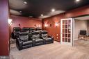 Media Theater - 18555 DETTINGTON CT, LEESBURG
