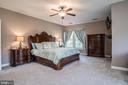 Very Spacious Master Suite - 18555 DETTINGTON CT, LEESBURG