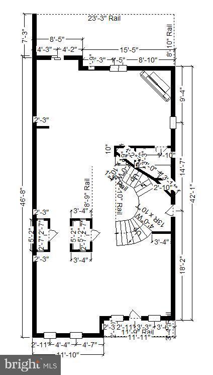 MAIN LEVEL DIMENSIONS! - 124 QUIETWALK LN, HERNDON