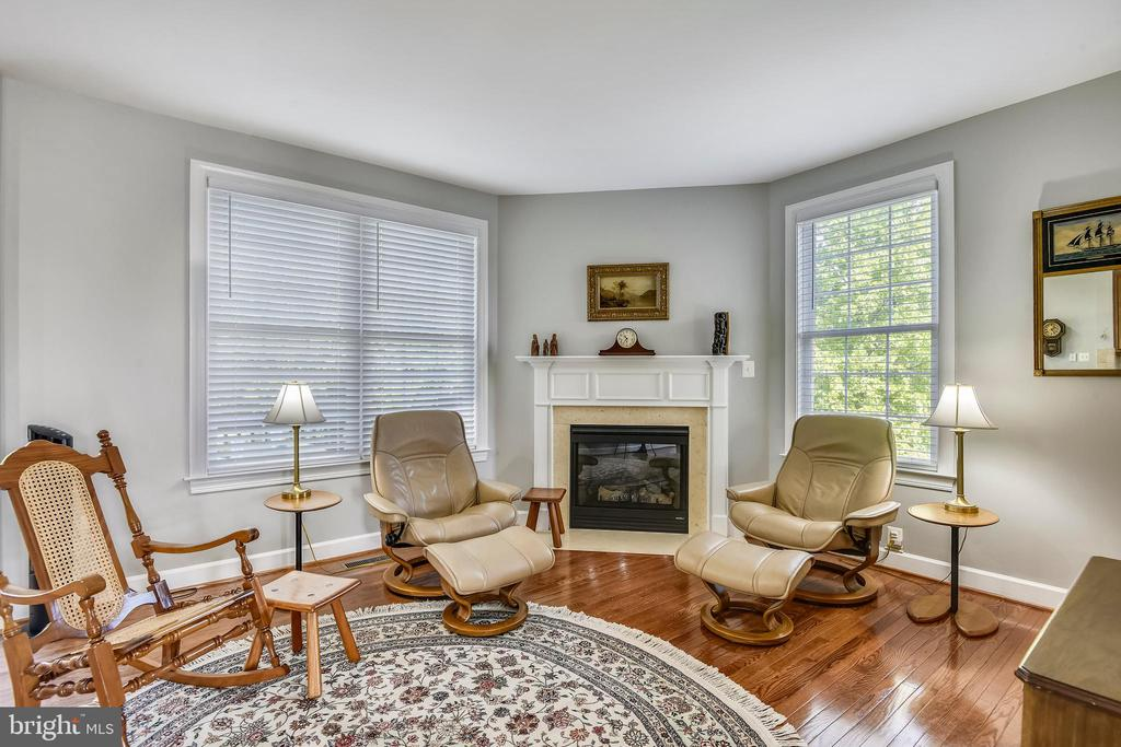 FAMILY ROOM WITH FIREPLACE! - 124 QUIETWALK LN, HERNDON