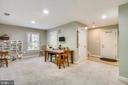 FINISHED REC ROOM FOR ENTERTAINING! - 124 QUIETWALK LN, HERNDON