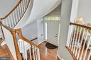 CURVED STAIR ENTRY! - 124 QUIETWALK LN, HERNDON