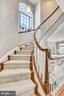 CURVED STAIRS TO UPPER LEVEL! - 124 QUIETWALK LN, HERNDON