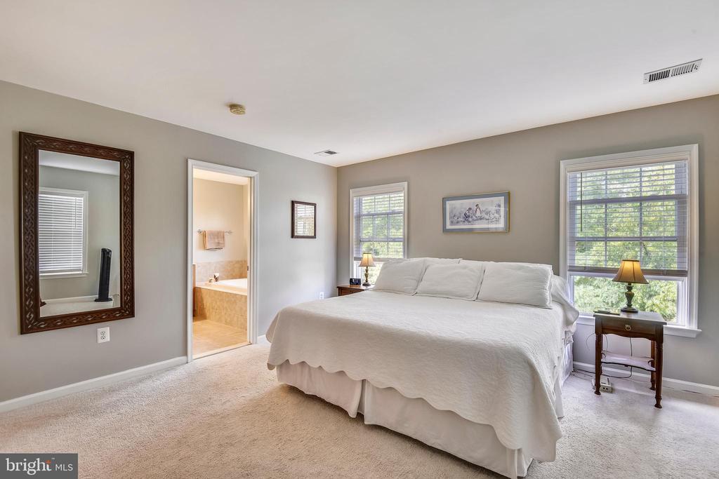LARGE MASTER BEDROOM! - 124 QUIETWALK LN, HERNDON
