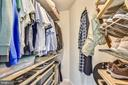 ONE OF 2 ORGANIZED CLOSETS IN MASTER! - 124 QUIETWALK LN, HERNDON