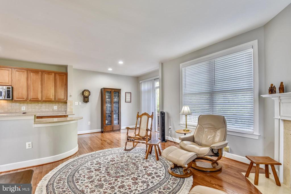 FAMILY ROOM OPENS TO KITCHEN! - 124 QUIETWALK LN, HERNDON