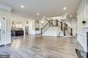 Incredible space in the family room - 4112 DOVEVILLE LN, FAIRFAX