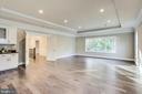 Stunning hardwood continues upstairs - 4112 DOVEVILLE LN, FAIRFAX