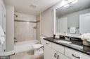 Large full bathroom in basement - 4112 DOVEVILLE LN, FAIRFAX