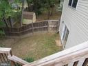 Fenced backyard - 9315 PAUL DR, MANASSAS PARK