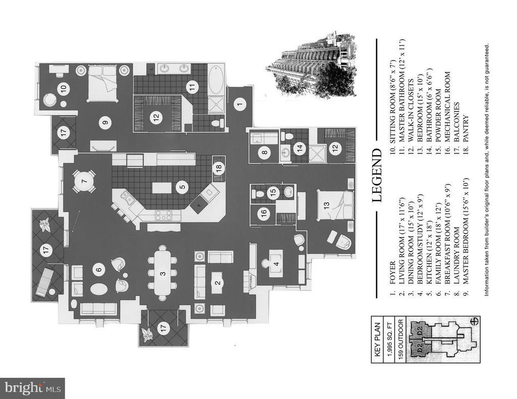 Floor plan - 11990 MARKET ST #1914, RESTON