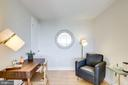 Study has a spacious closet - 2001 15TH ST N #1506, ARLINGTON