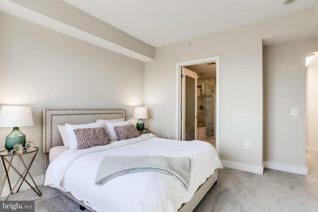 Master bedroom with ensuite and walk-in closet - 2001 15TH ST N #1506, ARLINGTON
