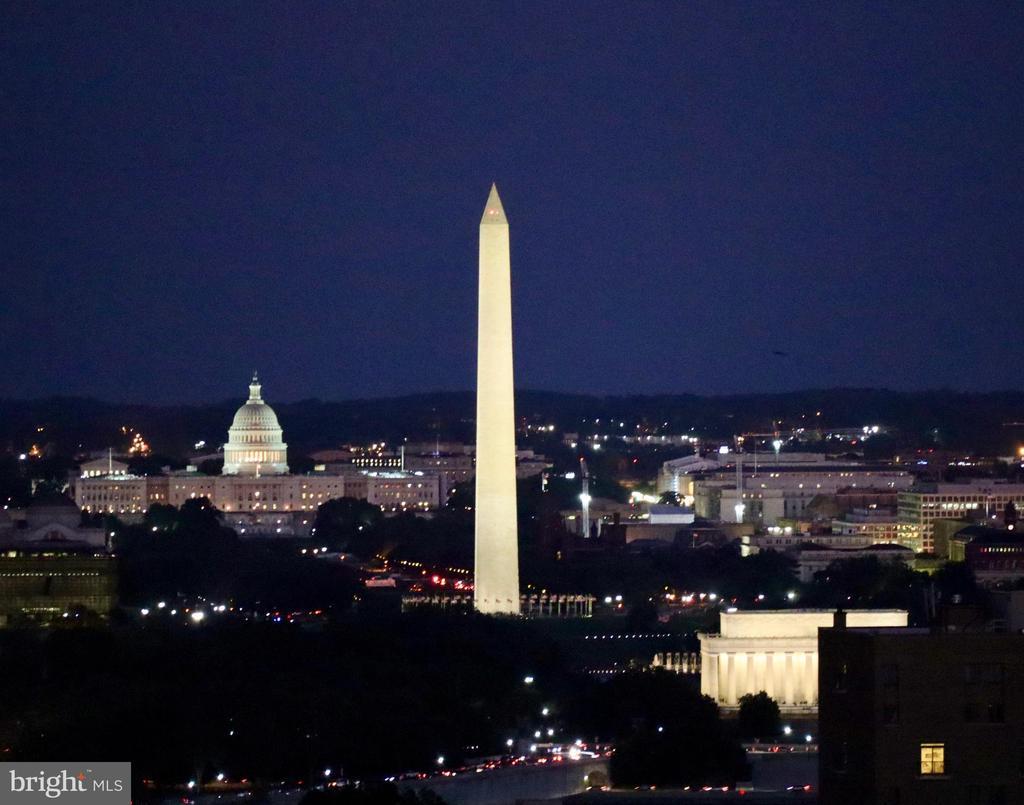 Nighttime view - 2001 15TH ST N #1506, ARLINGTON