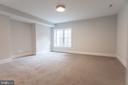 Lower Level bedroom - 1607 N BRYAN ST, ARLINGTON