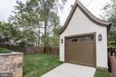 Charming detached 1-car garage - 1607 N BRYAN ST, ARLINGTON