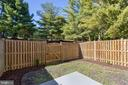 Fenced Backyard - 4541 CANARY CT, WOODBRIDGE