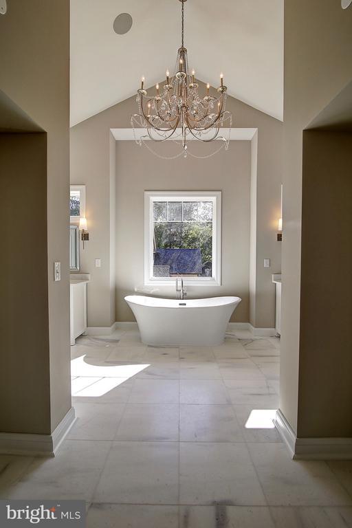 Magazine Worthy Master Bath. Heated Floors. - 10614 HUNTER STATION RD, VIENNA