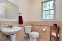 Half Bath on First Floor - 16 BRENTWOOD LN, FREDERICKSBURG