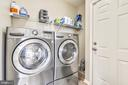 laundry on mail level between garage and kitchen! - 317 BAISH DR SE, LEESBURG