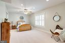 Spacious lower lvl bedroom, in law suite - 7002 HIGHLAND MEADOWS CT, ALEXANDRIA