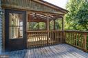 Screened porch opens to Trex deck - 7002 HIGHLAND MEADOWS CT, ALEXANDRIA
