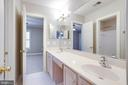 Jack & Jill Bathroom - 7002 HIGHLAND MEADOWS CT, ALEXANDRIA