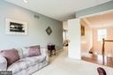 Master Bedroom Sitting Room - 3702 MILLPOND CT, FAIRFAX