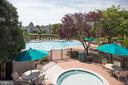Community pool included in HOA fee - 3702 MILLPOND CT, FAIRFAX
