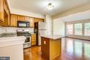 Kitchen with new appliances and counter tops - 4005 FOUNTAIN BRIDGE CT, FREDERICKSBURG