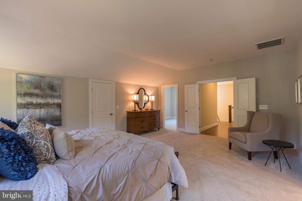 Master bedroom - 209 AUDREYS CT SE, VIENNA