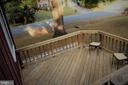 2-tier front deck - 7255 RIDGEWAY DR, MANASSAS