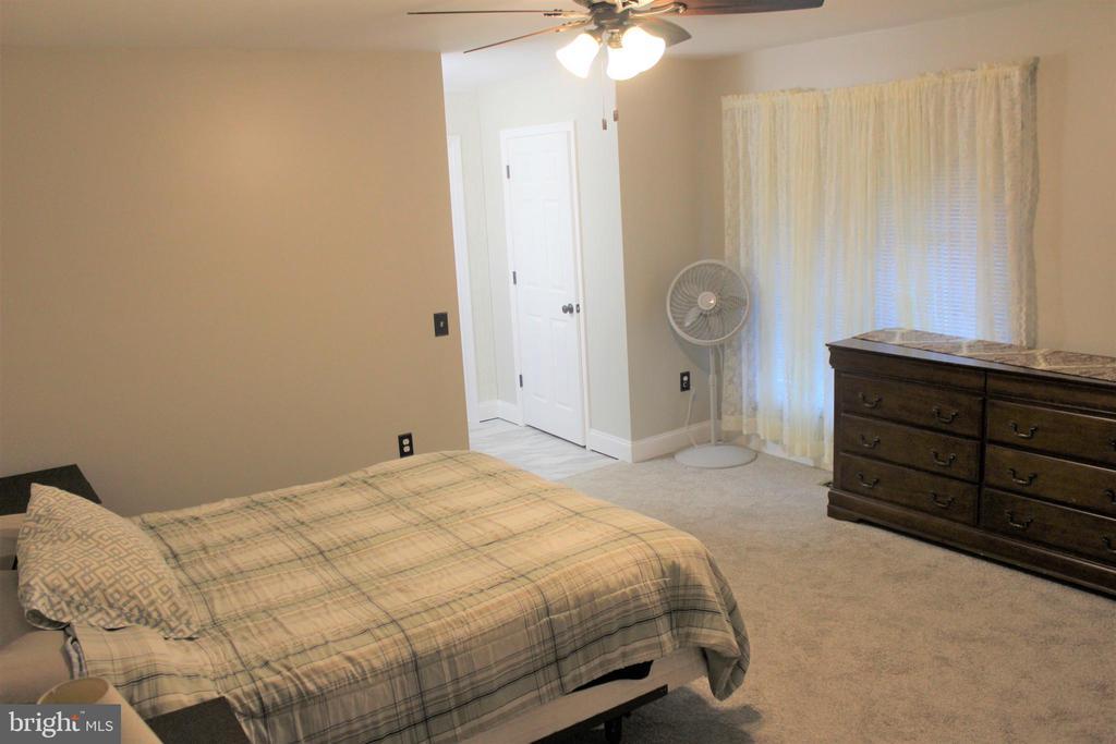 Master bedroom - 7255 RIDGEWAY DR, MANASSAS