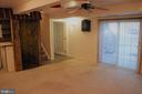 Basement rec room - 7255 RIDGEWAY DR, MANASSAS