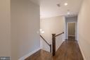 Upper level hallway - 209 AUDREYS CT SE, VIENNA