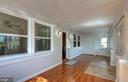 Large porch is closed-in to make a huge mudroom. - 6612 BALTIMORE AVE, UNIVERSITY PARK