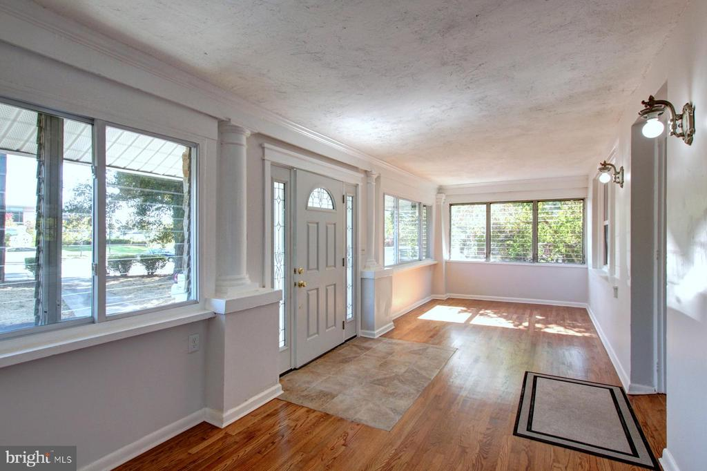 So much light in the mudroom. - 6612 BALTIMORE AVE, UNIVERSITY PARK