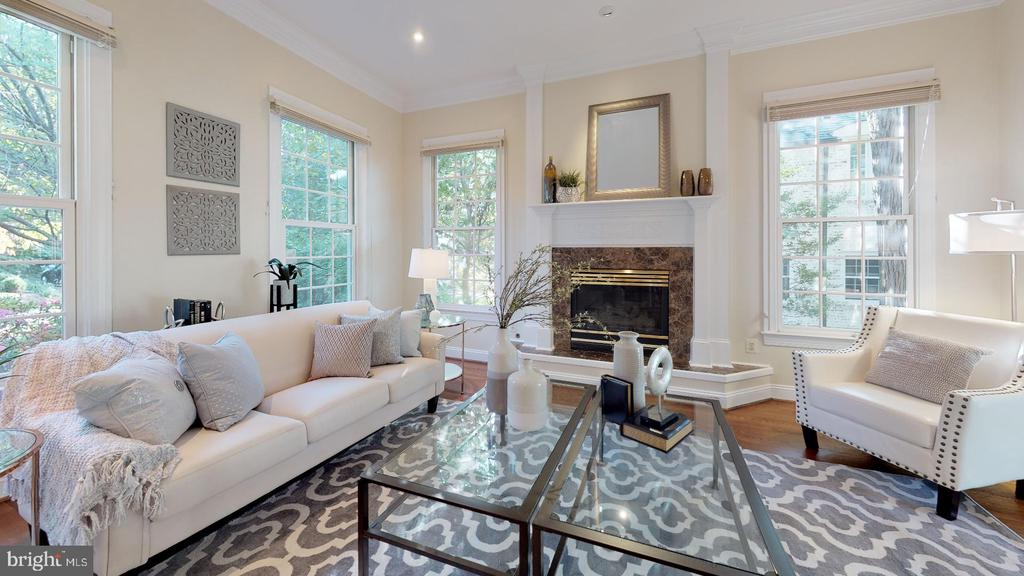 Another view of the formal living room - 4515 32ND ROAD N, ARLINGTON