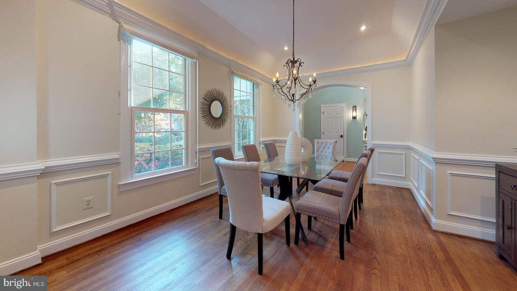 Another view of the formal dining room - 4515 32ND ROAD N, ARLINGTON