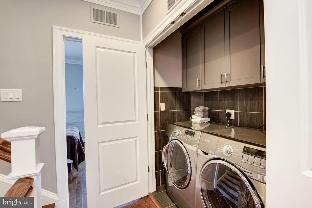 Bedroom Level Laundry Room - 10888 SYMPHONY PARK DR, NORTH BETHESDA